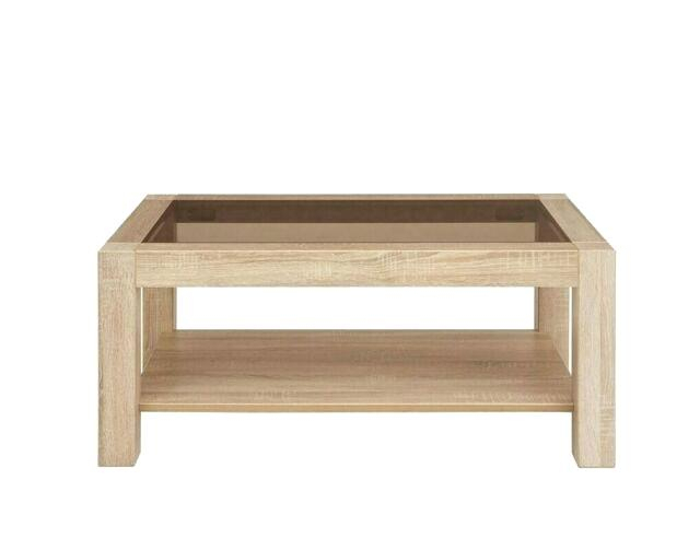 Oak Coffee Table With Glass Top – Jonnadegreenia (Image 33 of 50)