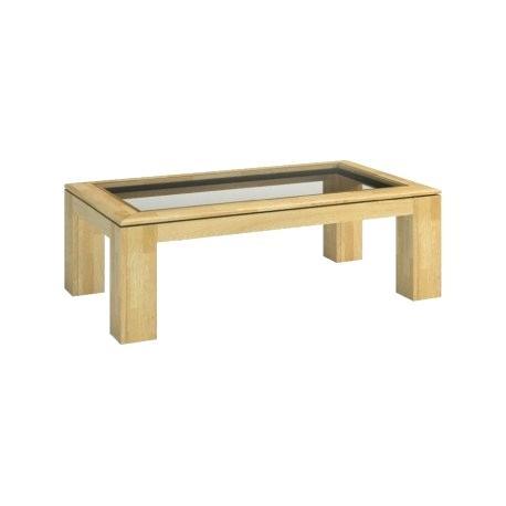 Oak Coffee Table With Glass Top – Jonnadegreenia (View 10 of 50)
