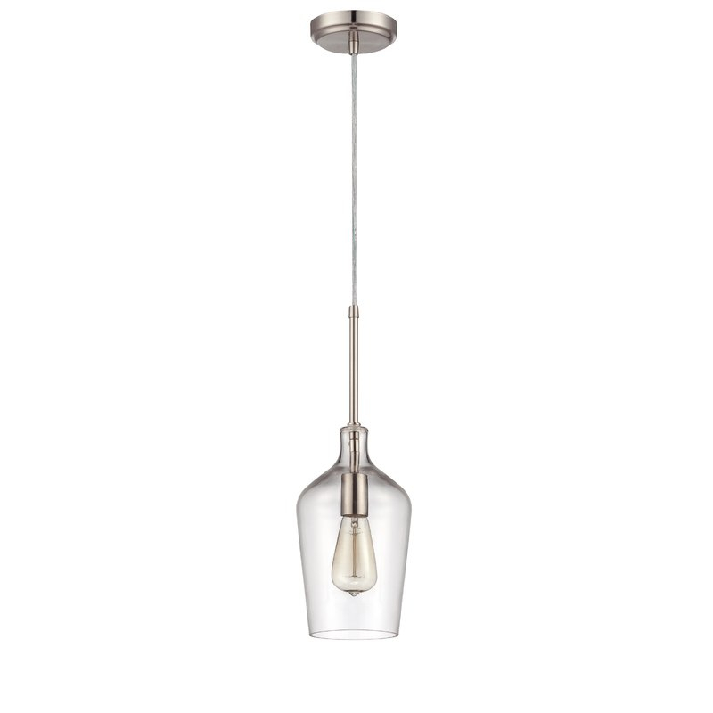 Oakhill 1 Light Single Bell Pendant For Carey 1 Light Single Bell Pendants (View 16 of 25)