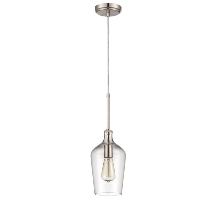 Oakhill 1 Light Single Bell Pendant Regarding Giacinta 1 Light Single Bell Pendants (View 7 of 25)