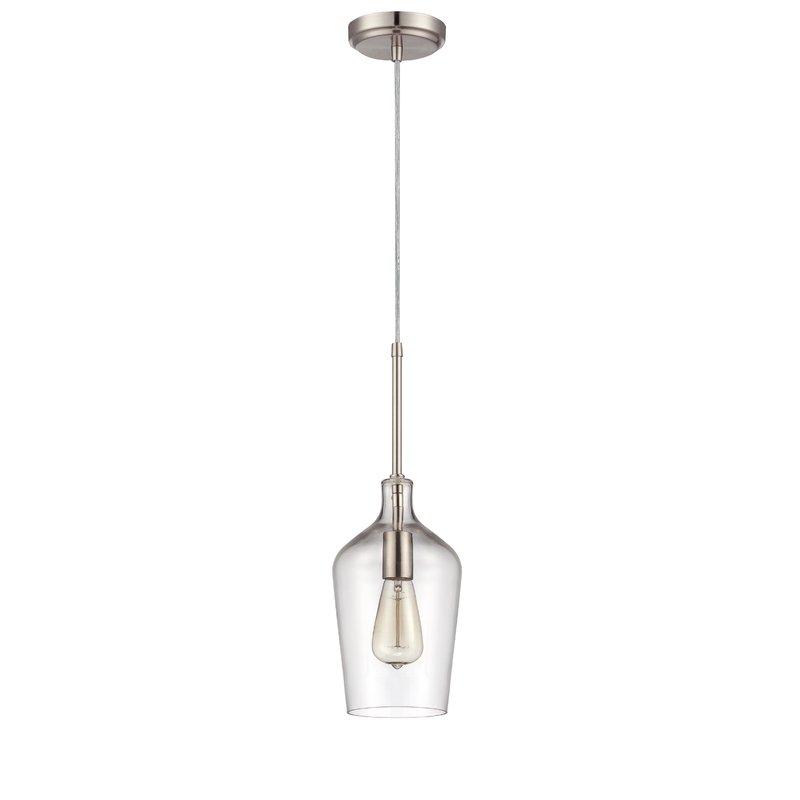 Oakhill 1 Light Single Bell Pendant Throughout Roslindale 1 Light Single Bell Pendants (View 7 of 25)