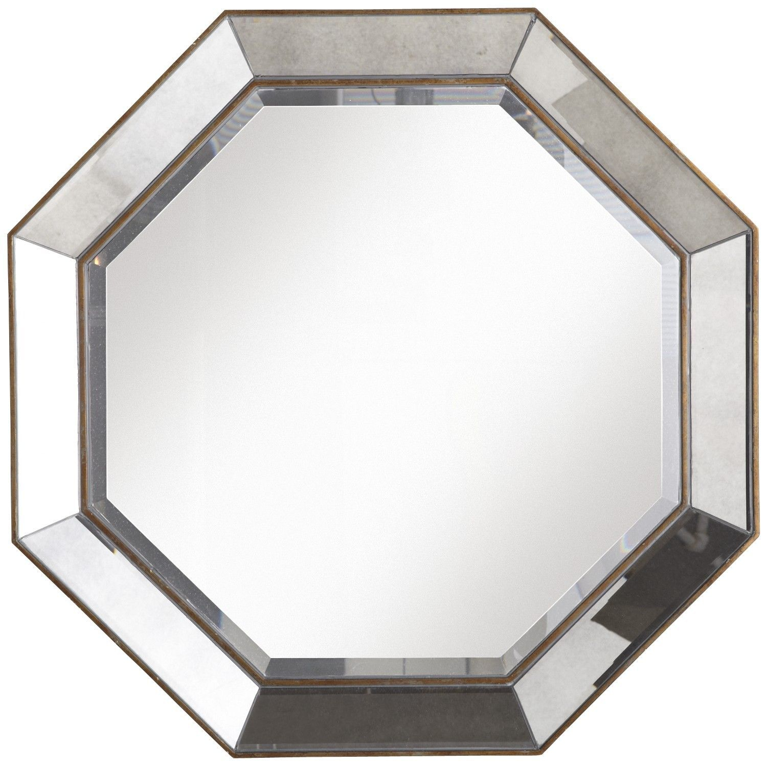 Octagon Mirror Could Be Used As A Coffee Table (Or Two Intended For Trigg Accent Mirrors (View 12 of 20)