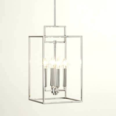 Odie 4 Light Foyer Pendant – Interiorkeenan (View 16 of 25)