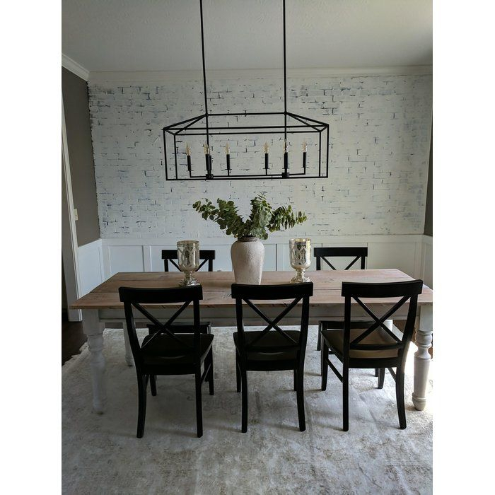 Odie 8 Light Kitchen Island Square / Rectangle Pendant | For With Regard To Odie 8 Light Kitchen Island Square / Rectangle Pendants (View 6 of 25)