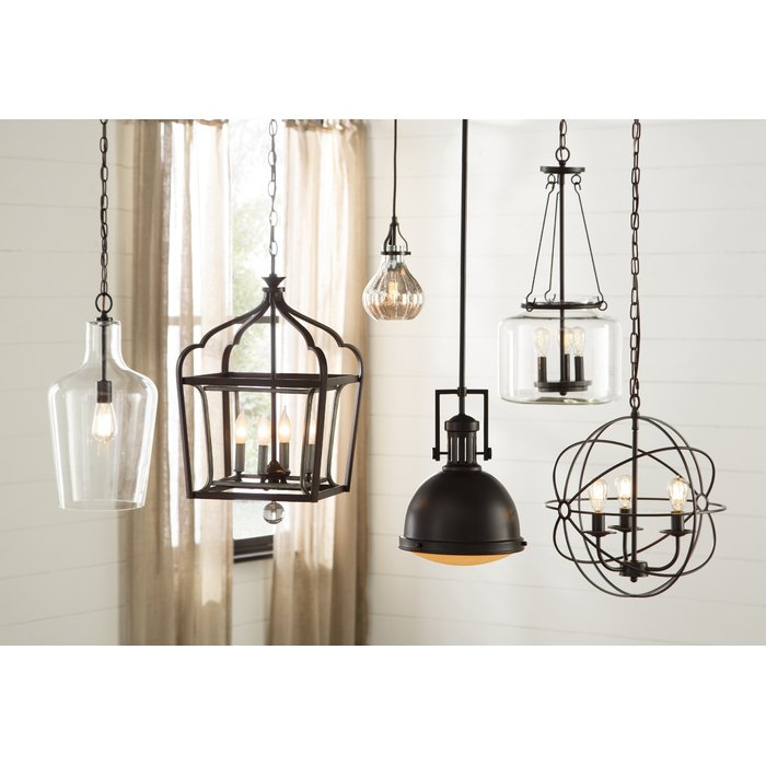 Orofino 1 Light Single Teardrop Pendant With Giacinta 1 Light Single Bell Pendants (View 23 of 25)