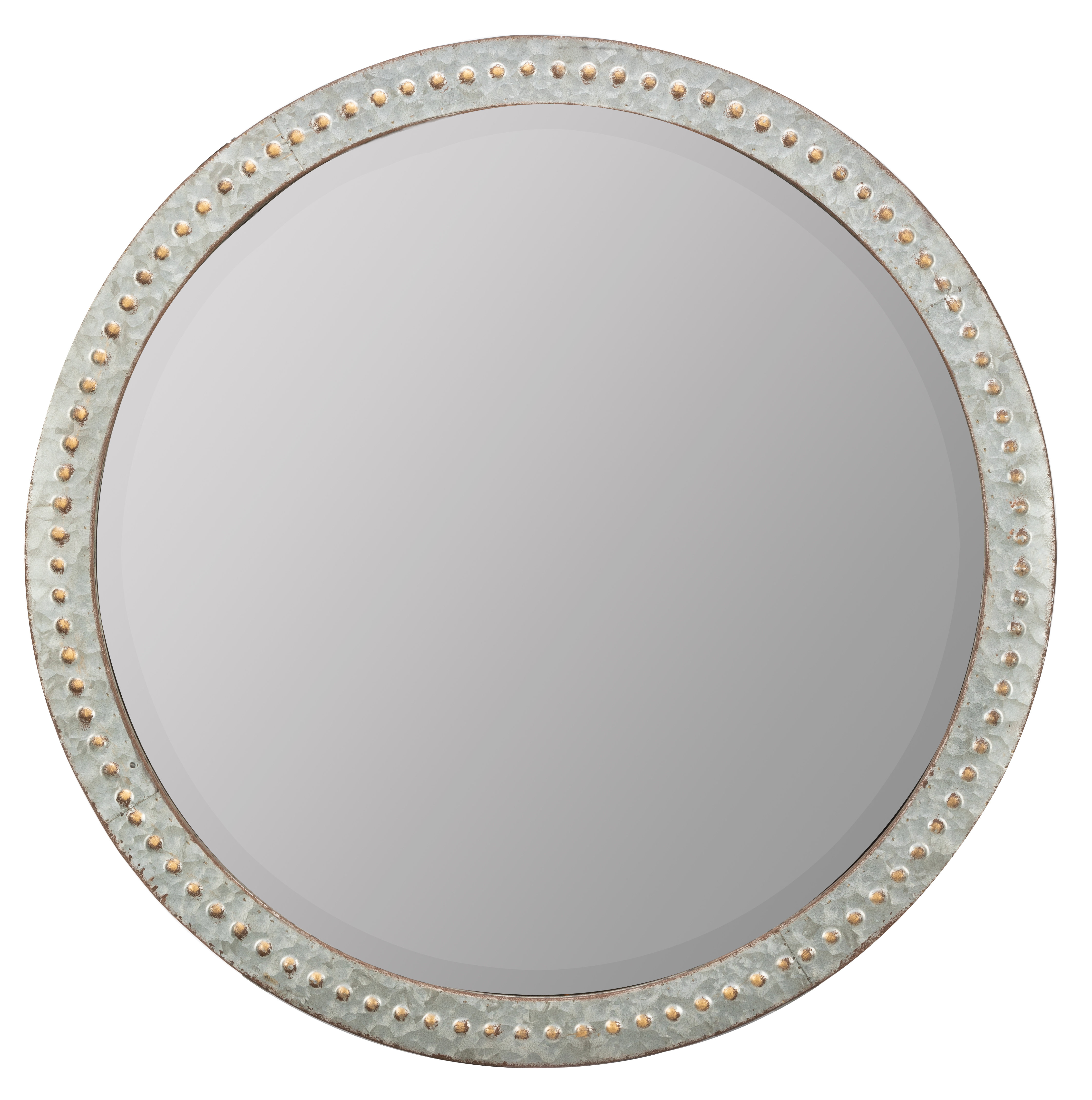 Orval Beveled Wall Mirror | Joss & Main In Glen View Beaded Oval Traditional Accent Mirrors (View 18 of 20)