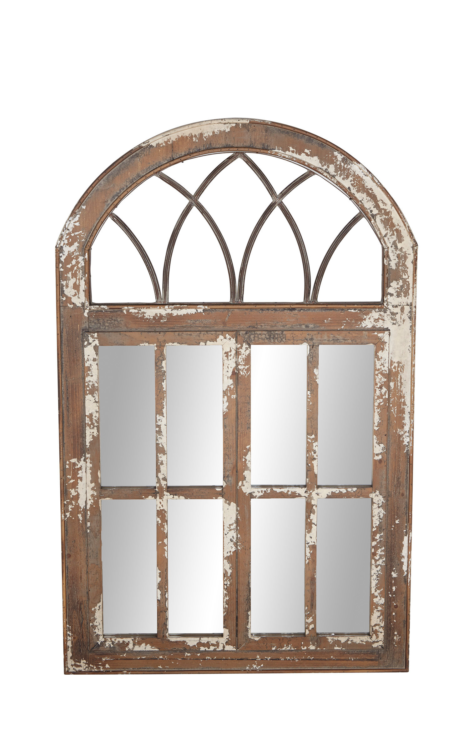 Osterley Windowpane Accent Mirror For 2 Piece Kissena Window Pane Accent Mirror Sets (View 11 of 20)