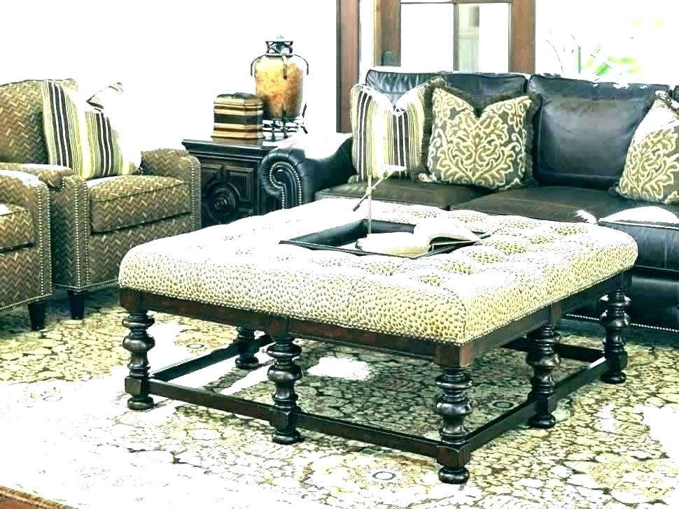 Ottomans As Coffee Tables – Fishinstitute (Image 9 of 25)