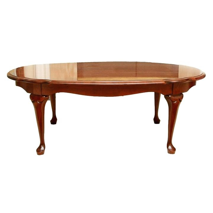 Oval Cherry Coffee Table – Aulamintic (Image 33 of 50)