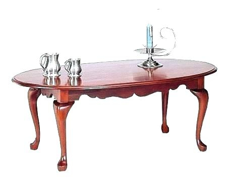 Oval Cherry Coffee Table – Aulamintic (Image 34 of 50)
