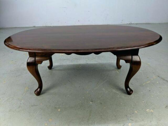 Oval Cherry Coffee Table – Kidcapital (View 4 of 25)