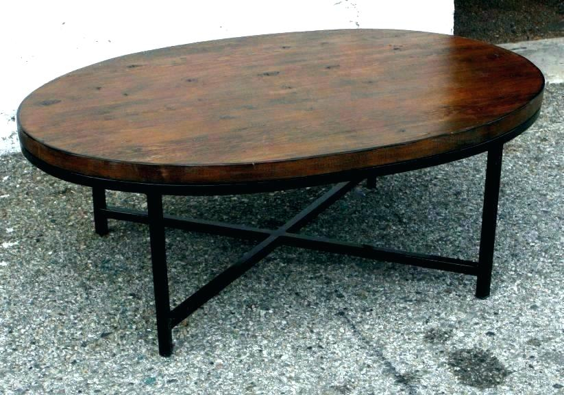 Oval Cherry Coffee Table – Lthdpphr Inside Furniture Of America Crescent Dark Cherry Glass Top Oval Coffee Tables (Image 42 of 50)