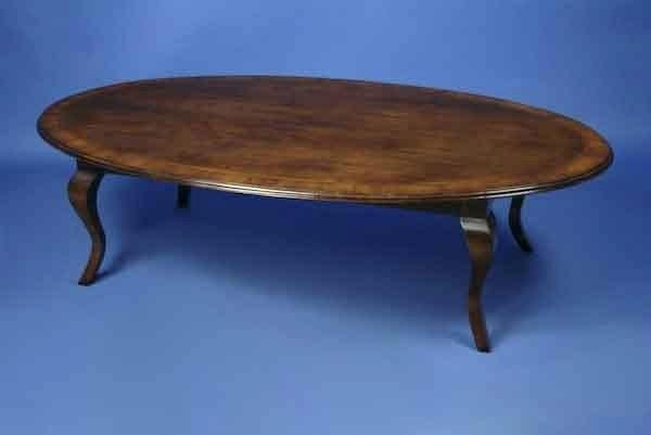 Oval Cherry Coffee Table – Toyota4 Throughout Furniture Of America Crescent Dark Cherry Glass Top Oval Coffee Tables (Image 43 of 50)