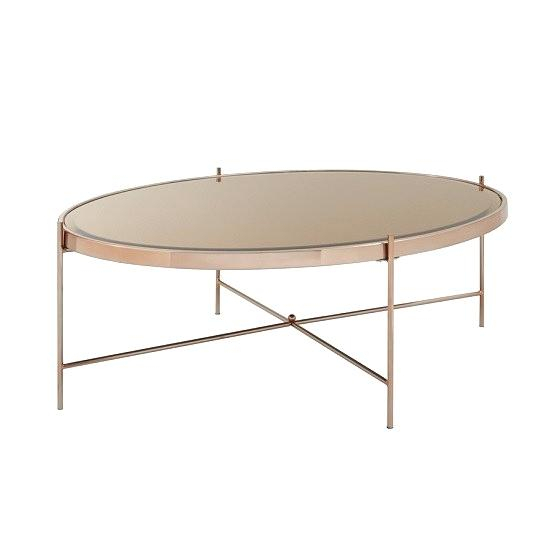 Oval Metal Coffee Table – Lavettespeier (View 9 of 25)
