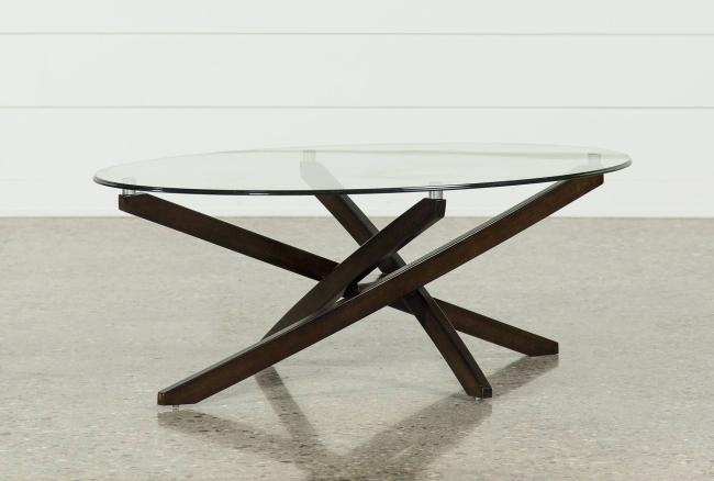 Oval Metal Coffee Table – Myrealizations With Handy Living Miami White Oval Coffee Tables With Brown Metal Legs (View 13 of 25)