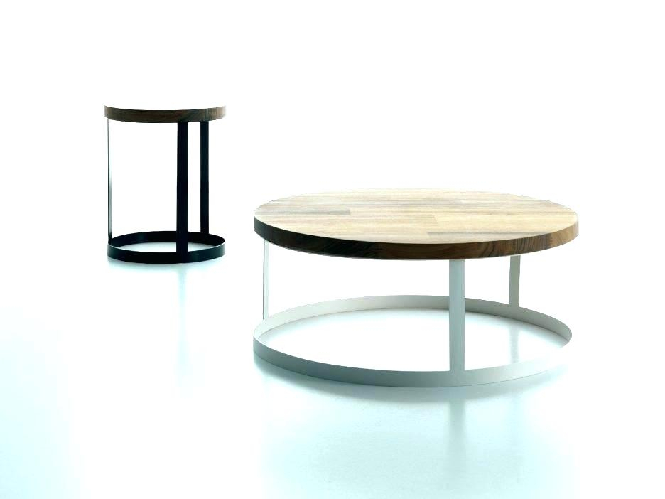 Oval Metal Coffee Table – Saumitra In Handy Living Miami White Oval Coffee Tables With Brown Metal Legs (View 25 of 25)