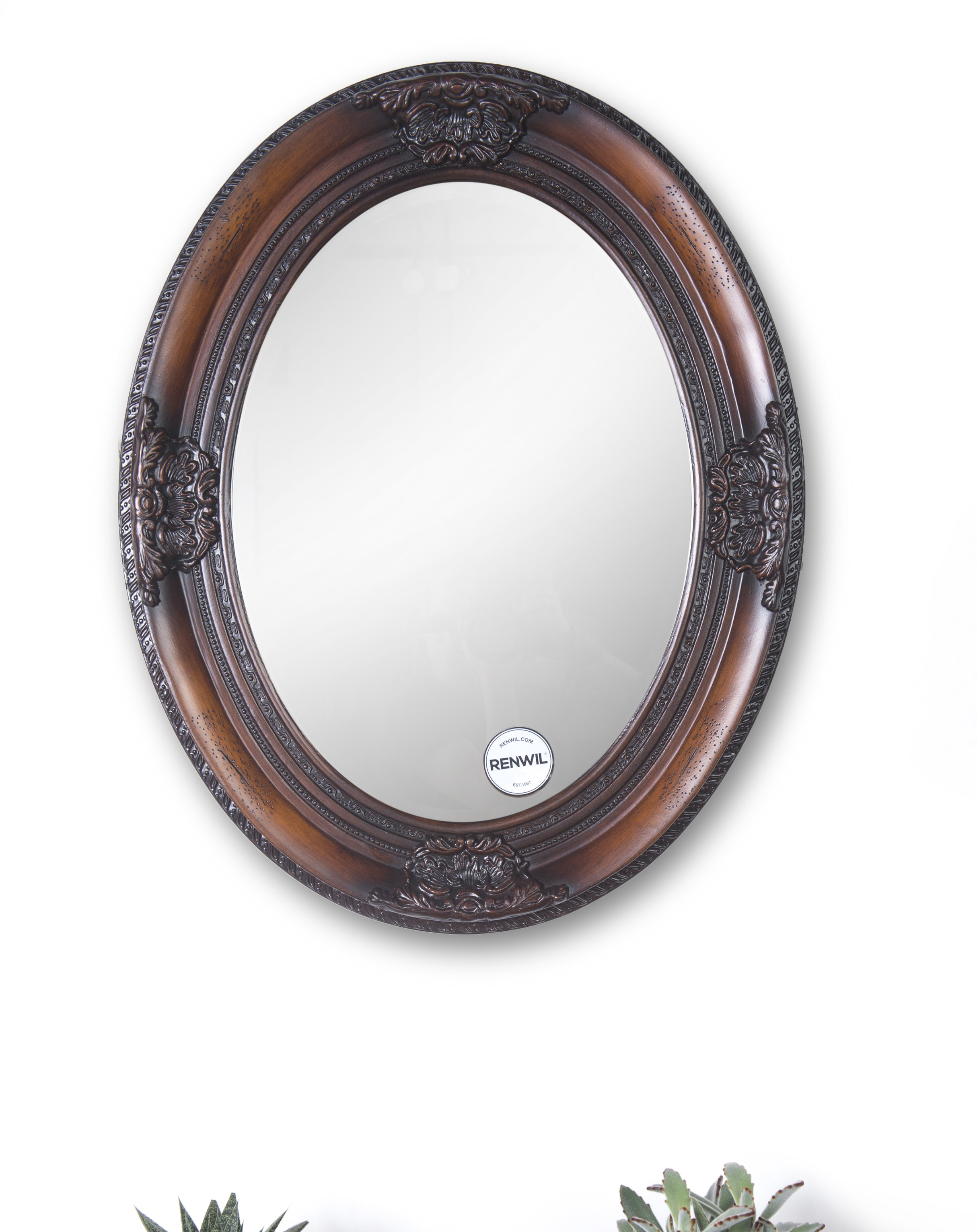 Oval Wood Wall Mirrors You'll Love In 2019 | Wayfair Inside Pfister Oval Wood Wall Mirrors (Image 14 of 20)