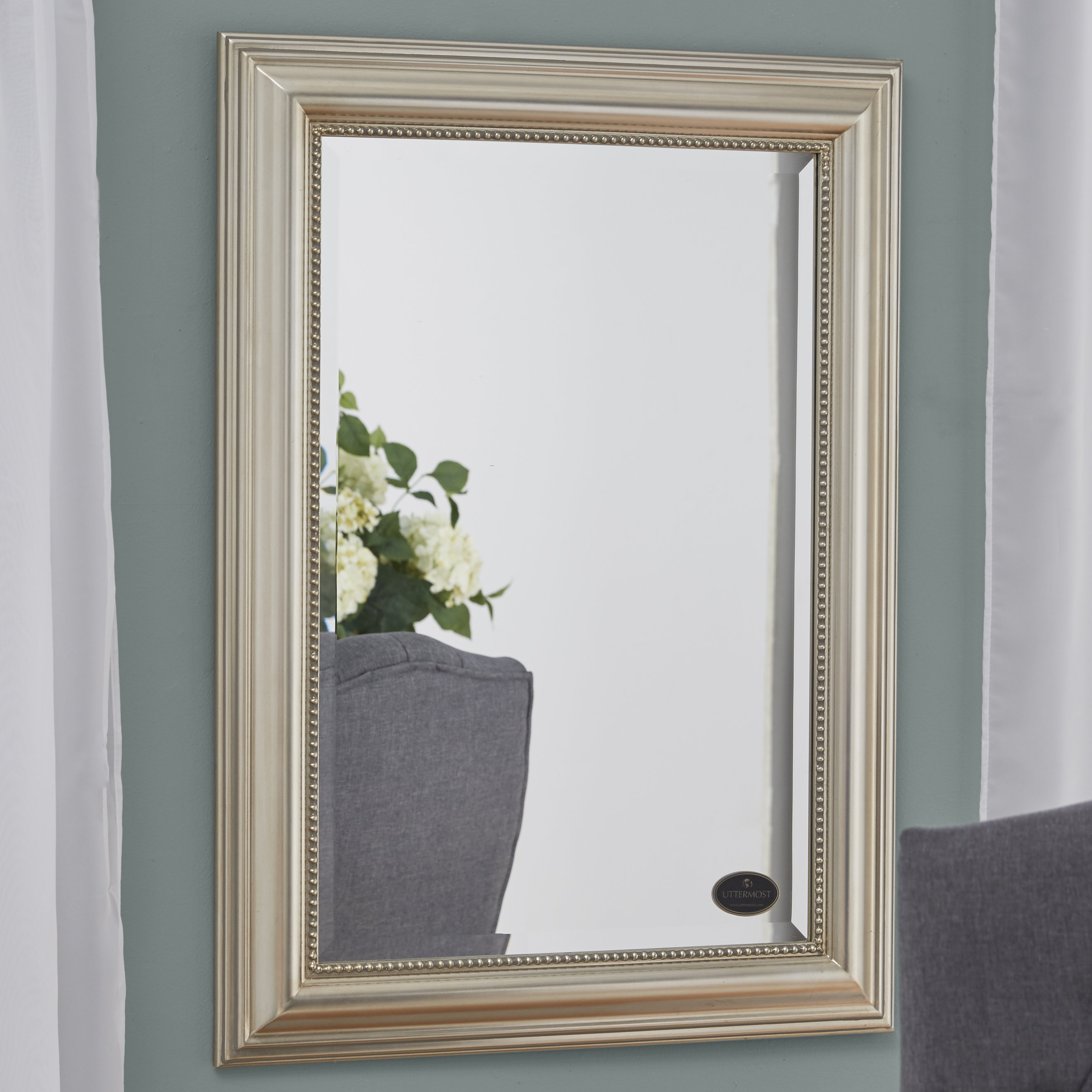 Owens Accent Mirror With Dedrick Decorative Framed Modern And Contemporary Wall Mirrors (Image 14 of 20)