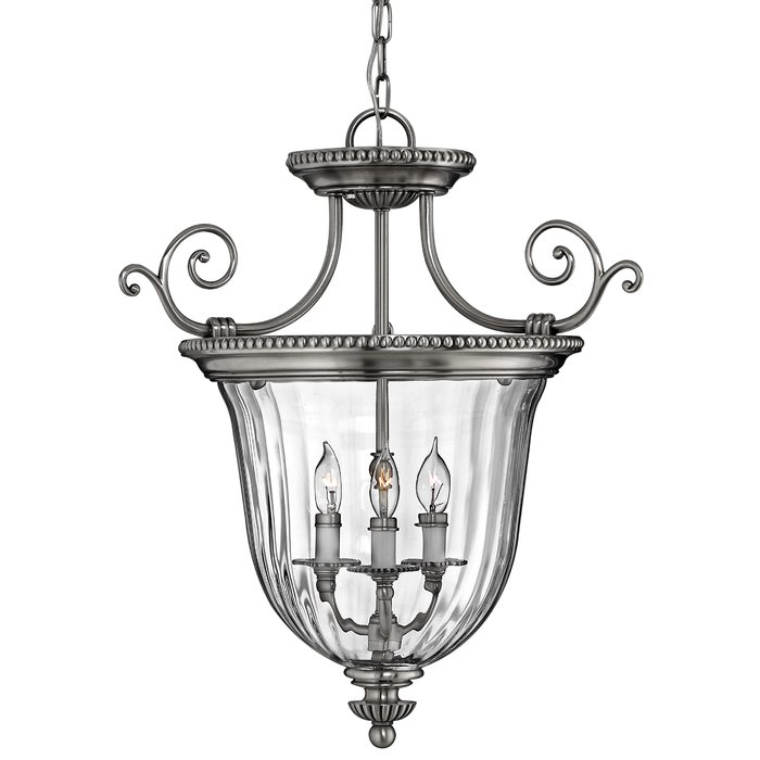 Oxford 3 Light Single Urn Pendant Intended For 3 Light Single Urn Pendants (Image 22 of 25)