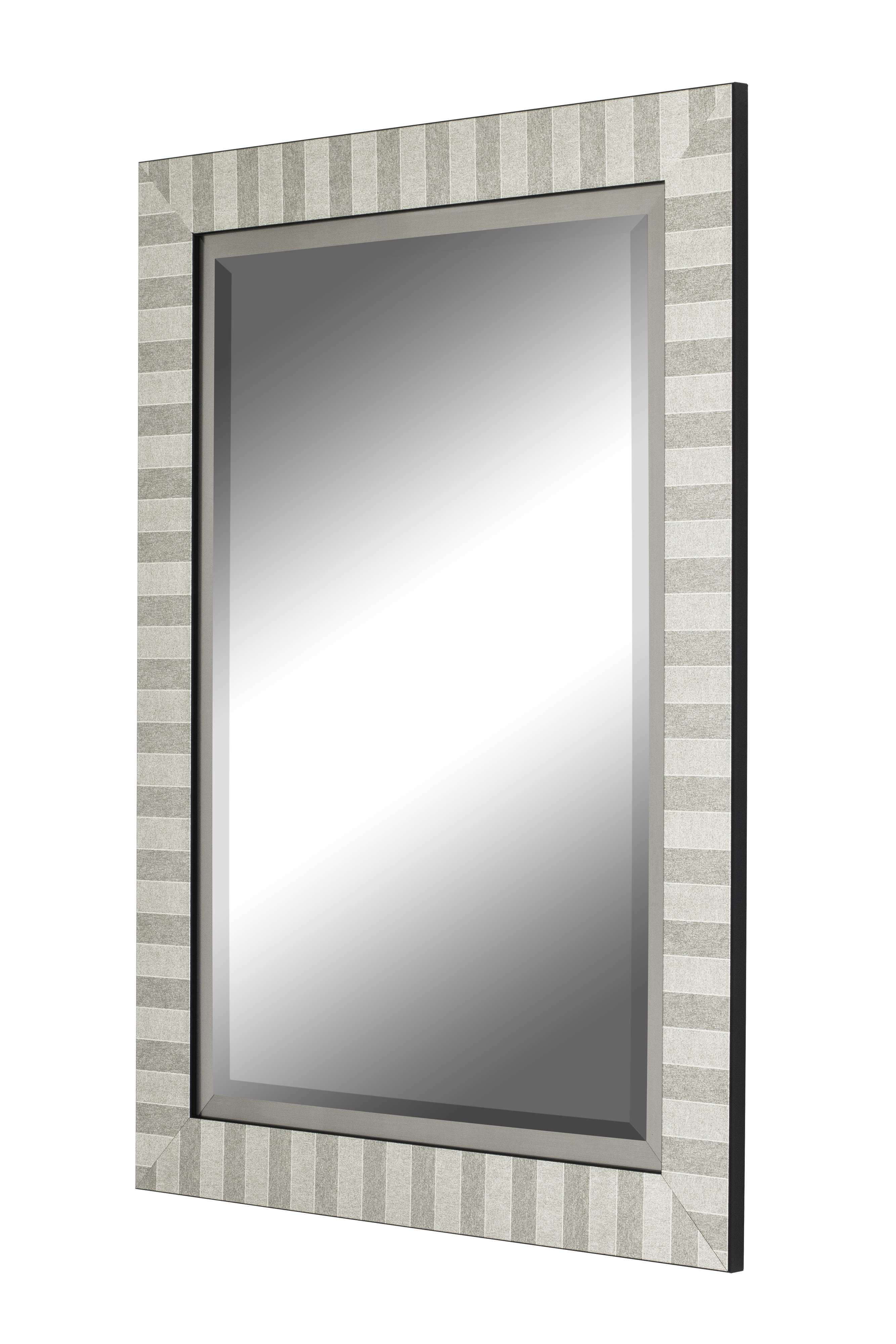 Pagano Urban Modern & Contemporary Wall Mirror Within Modern & Contemporary Beveled Overmantel Mirrors (View 14 of 20)