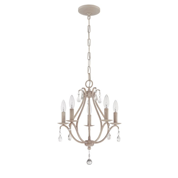 Palumbo 5 Light Candle Style Chandelier Within Florentina 5 Light Candle Style Chandeliers (View 7 of 20)