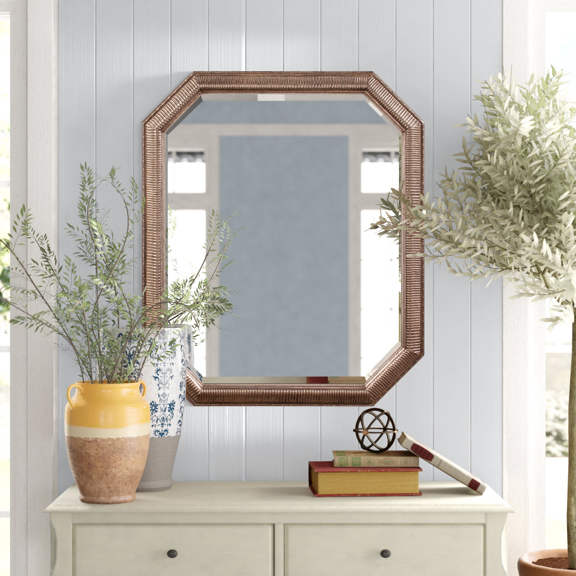 Patrizia Traditional Accent Mirror Throughout Maude Accent Mirrors (Image 10 of 20)