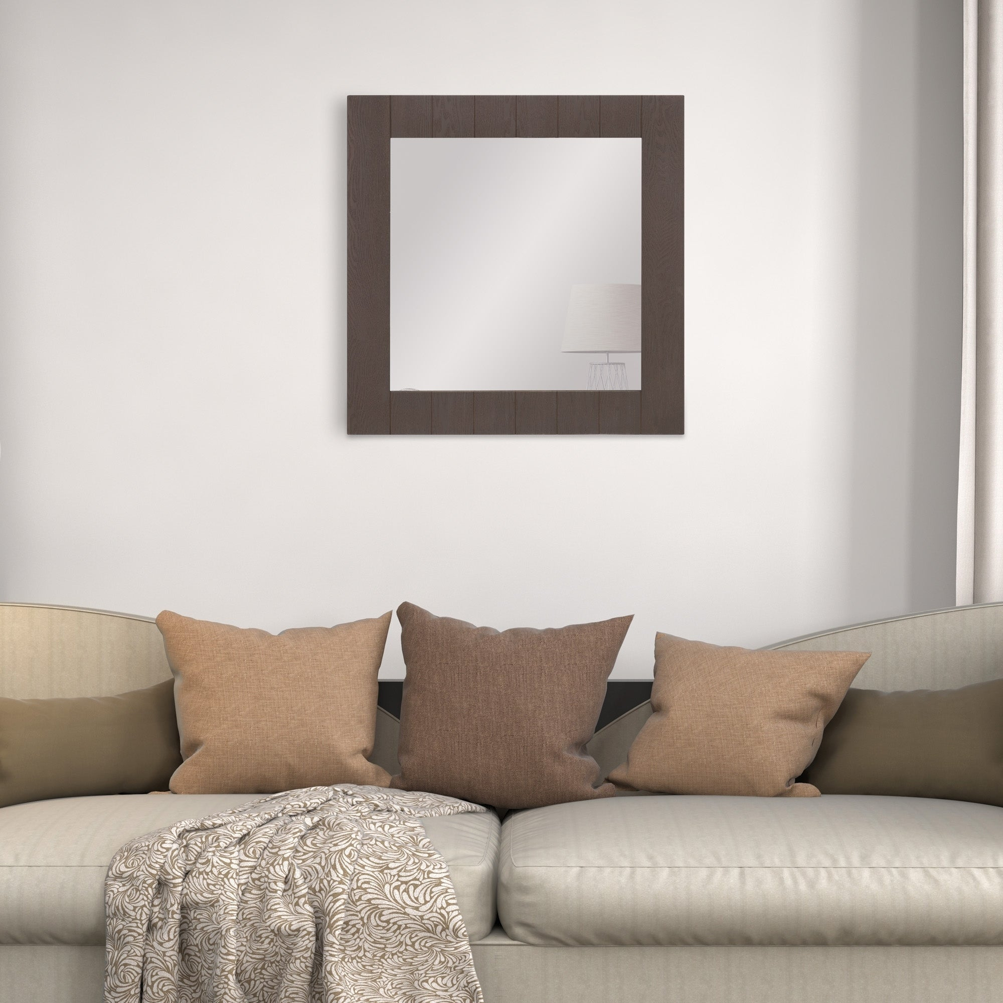 Featured Image of Wood Accent Mirrors