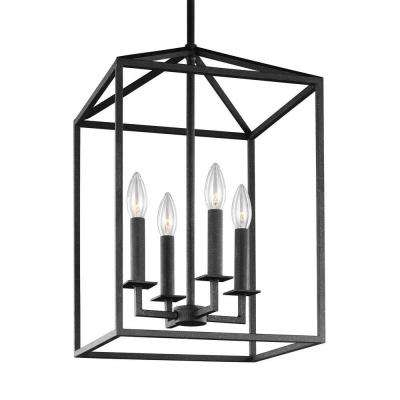Pendant Lights – Lighting – The Home Depot With 3 Light Lantern Cylinder Pendants (View 19 of 20)