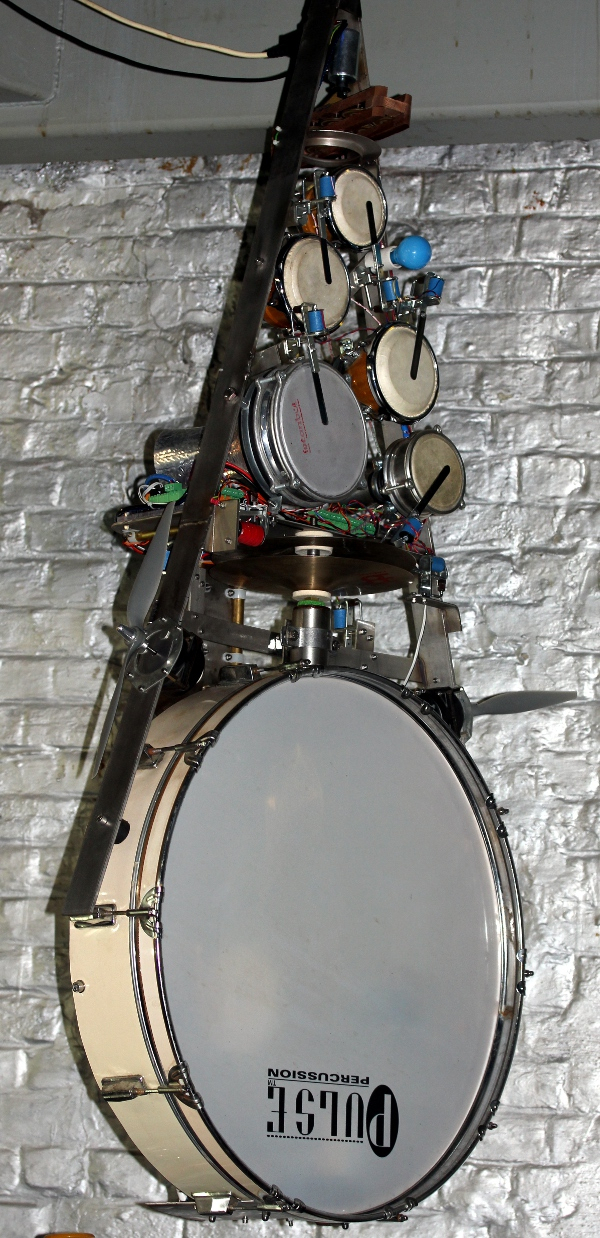 Per: An Automated Drum Kitgodfried Willem Raes For Willems 1 Light Single Drum Pendants (Image 13 of 25)