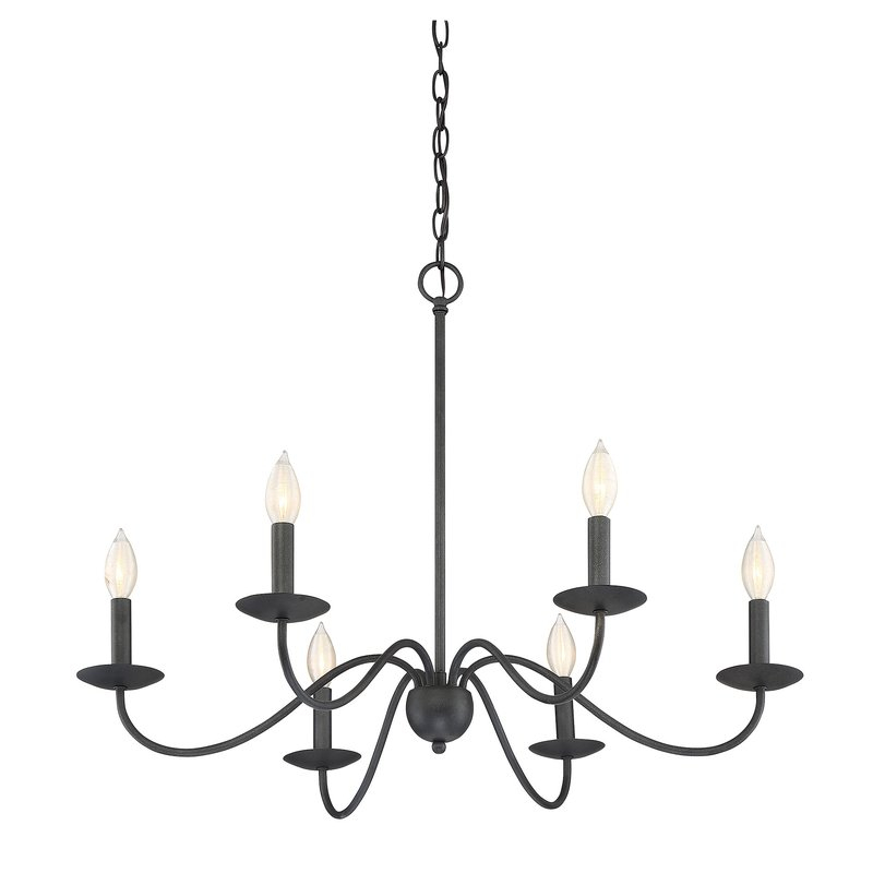 Perseus 6 Light Candle Style Chandelier For Hamza 6 Light Candle Style Chandeliers (View 13 of 20)