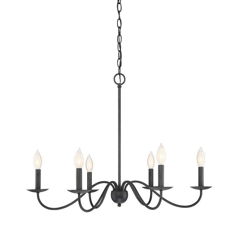 Perseus 6 Light Candle Style Chandelier In 2019   Our Home Inside Perseus 6 Light Candle Style Chandeliers (View 4 of 20)