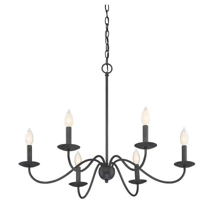 Featured Image of Perseus 6 Light Candle Style Chandeliers