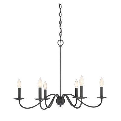 Perseus 6 Light Chandelier   Joss & Main With Perseus 6 Light Candle Style Chandeliers (View 6 of 20)