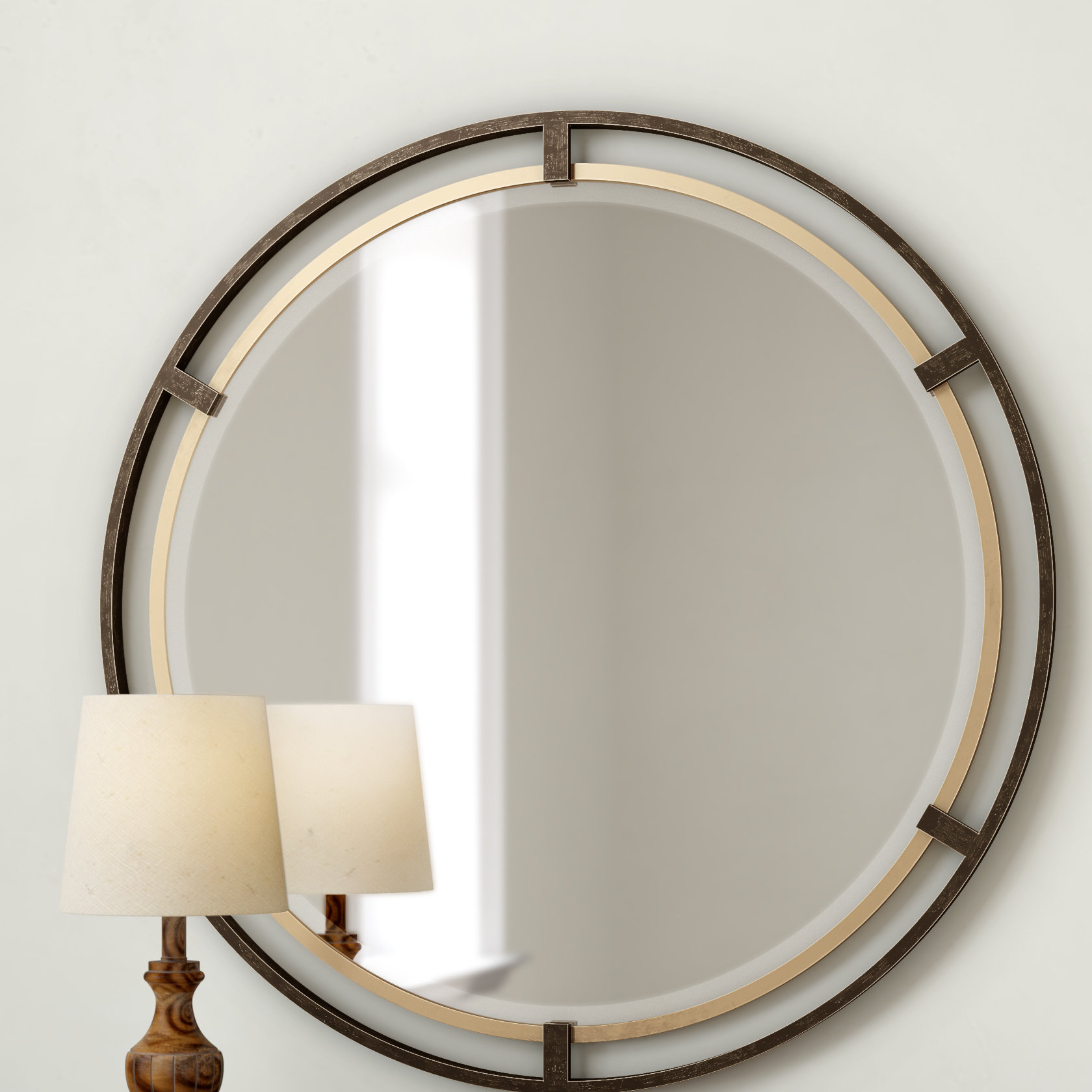 Pia Carrizo Modern & Contemporary Accent Mirror Throughout Charters Towers Accent Mirrors (Image 17 of 20)