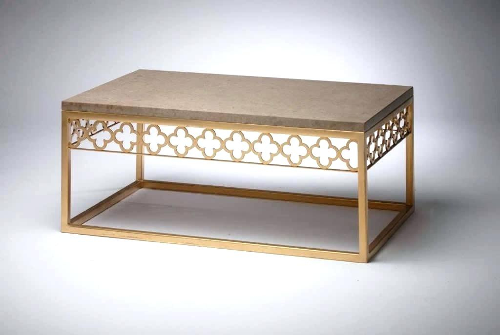Picturesque Coffee Table Home Security Set Is Like Regarding The Curated Nomad Quatrefoil Goldtone Metal And Glass Coffee Tables (View 33 of 50)