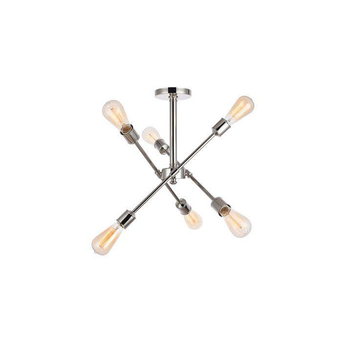 Pin On B E D R O O M Within Johanne 6 Light Sputnik Chandeliers (Image 18 of 20)