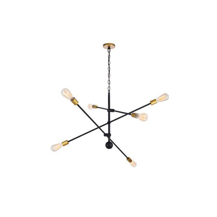 Pin On Chandeliers Inside Johanne 6 Light Sputnik Chandeliers (Image 19 of 20)