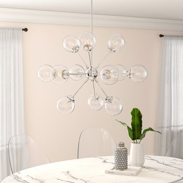 Pin On House Design Regarding Asher 12 Light Sputnik Chandeliers (View 6 of 20)