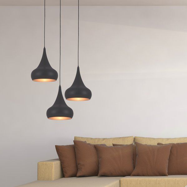 Pin On Kitchen Redo With Berenice 3 Light Cluster Teardrop Pendants (View 9 of 25)