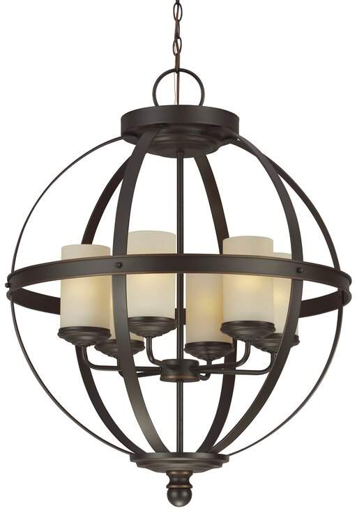Pin On Products Regarding Donna 6 Light Globe Chandeliers (Image 18 of 20)