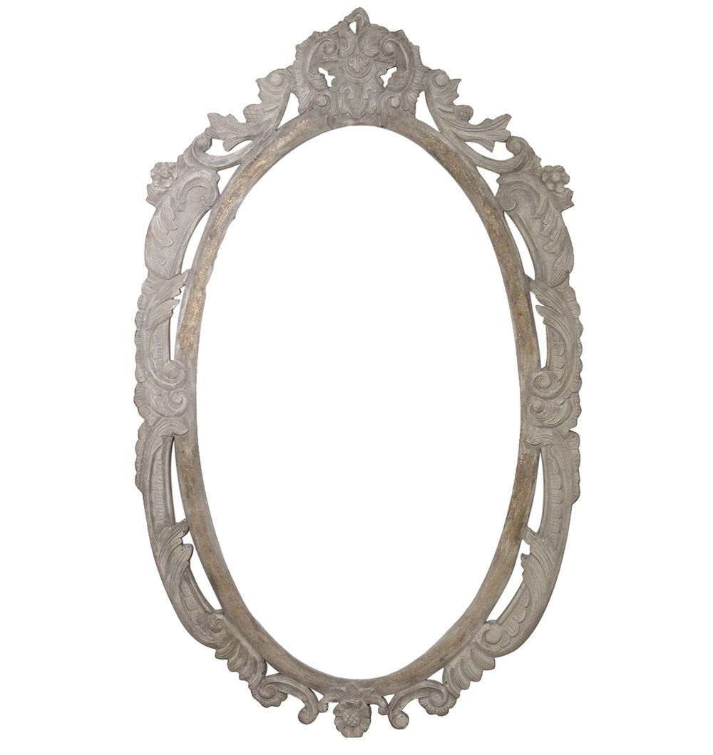 Pinashley Calandra On Apartment | Mirror, Oval Mirror, Wall With Regard To Alissa Traditional Wall Mirrors (View 9 of 20)