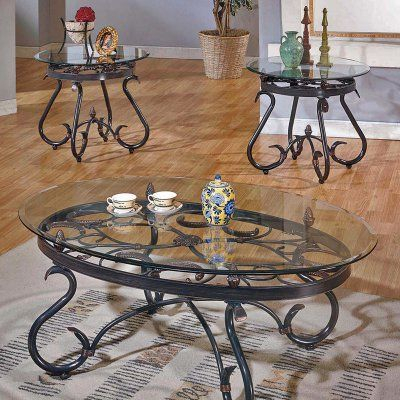 Pinterest – Пинтерест Pertaining To Gracewood Hollow Fishta Antique Brass Metal Glass 3 Piece Tables (View 8 of 25)