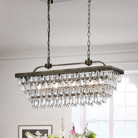Pinterest – Пинтерест With Regard To Whitten 4 Light Crystal Chandeliers (View 4 of 20)