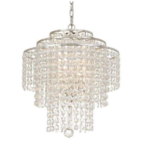 Pinterest Intended For Whitten 4 Light Crystal Chandeliers (View 14 of 20)
