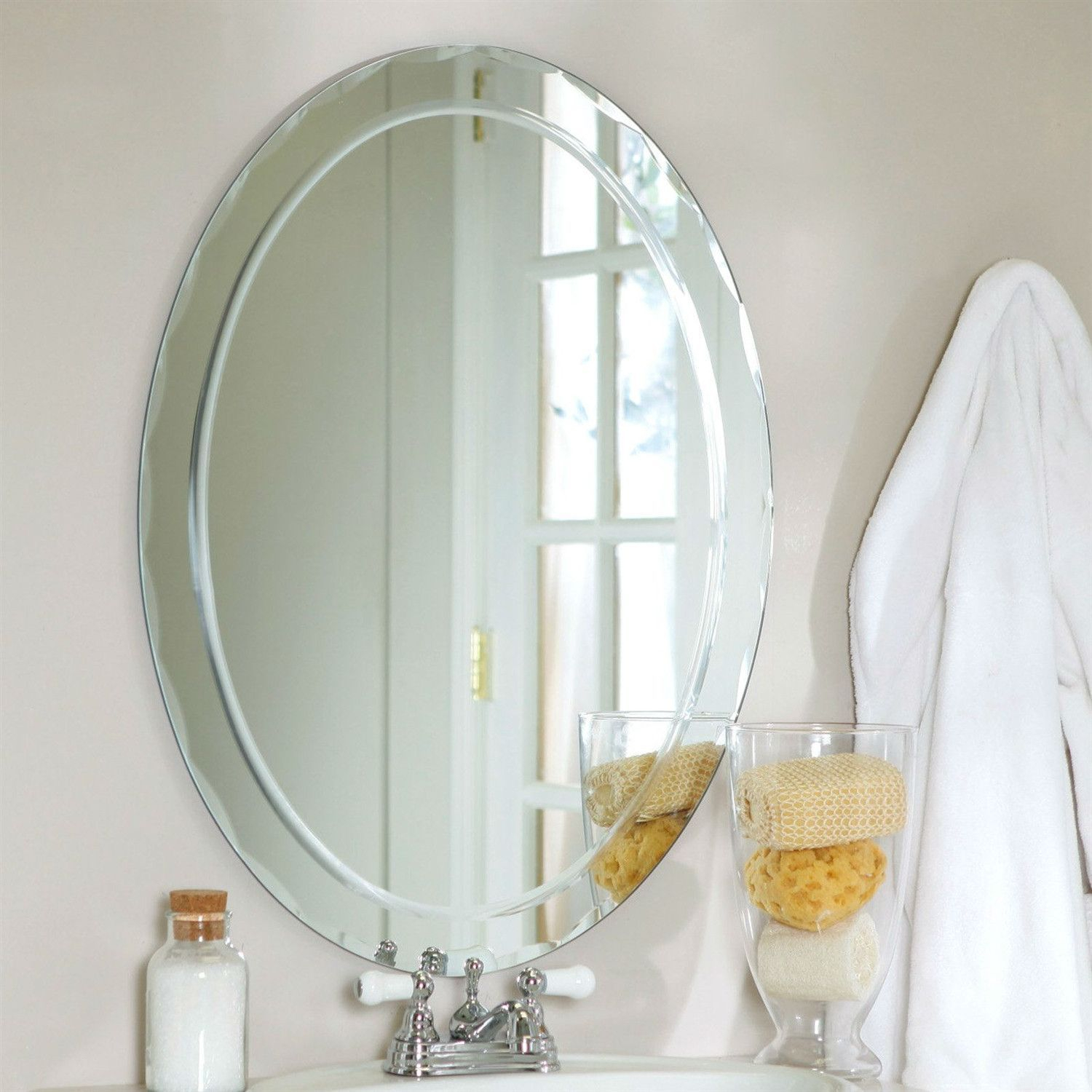 Pinterest Pertaining To Thornbury Oval Bevel Frameless Wall Mirrors (View 15 of 20)