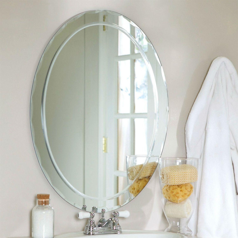 Pinterest Pertaining To Thornbury Oval Bevel Frameless Wall Mirrors (Image 14 of 20)