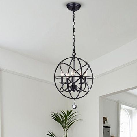 Pinterest Regarding Waldron 5 Light Globe Chandeliers (Image 8 of 20)