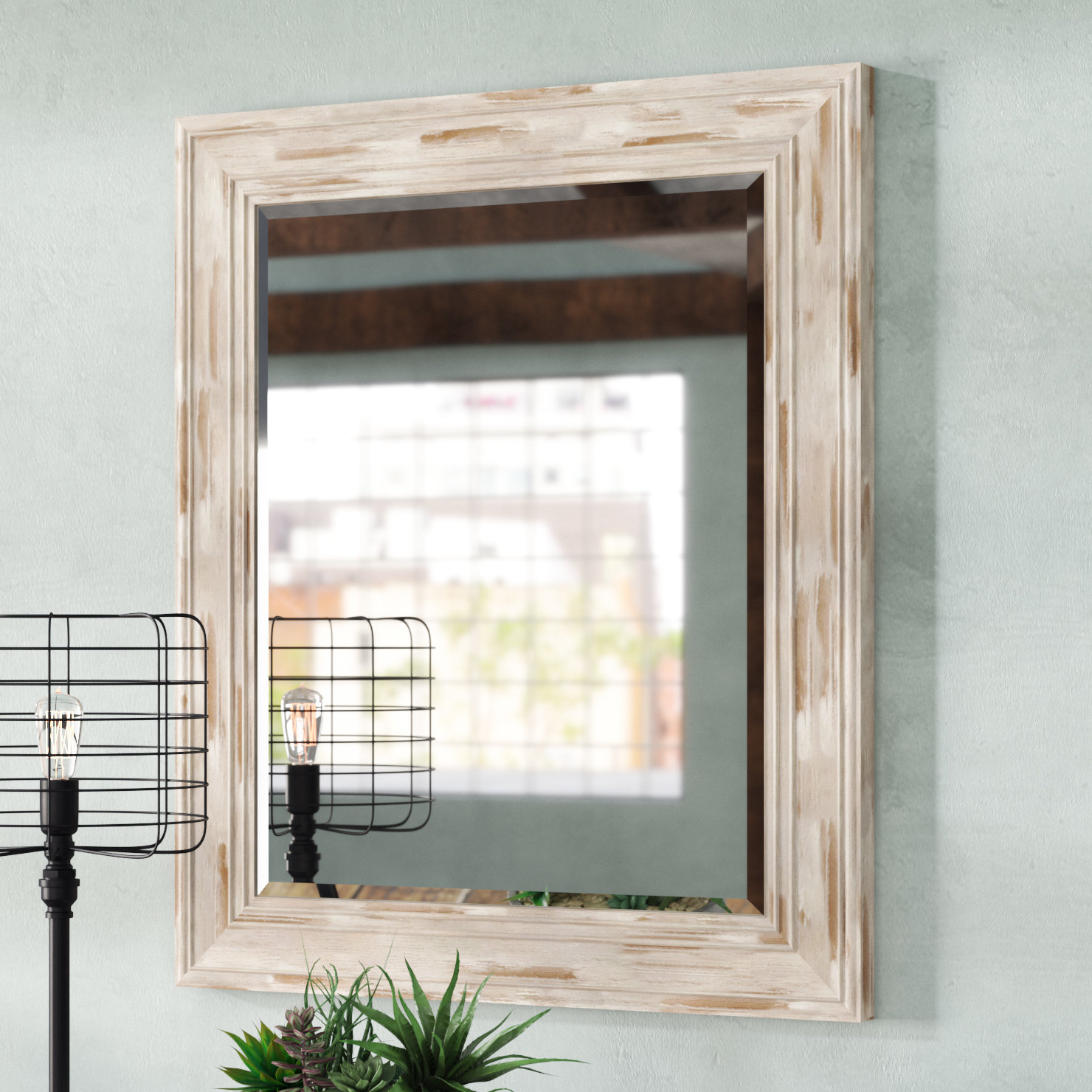 Plastic Wall Mirrors You'll Love In 2019 | Wayfair (Image 11 of 20)