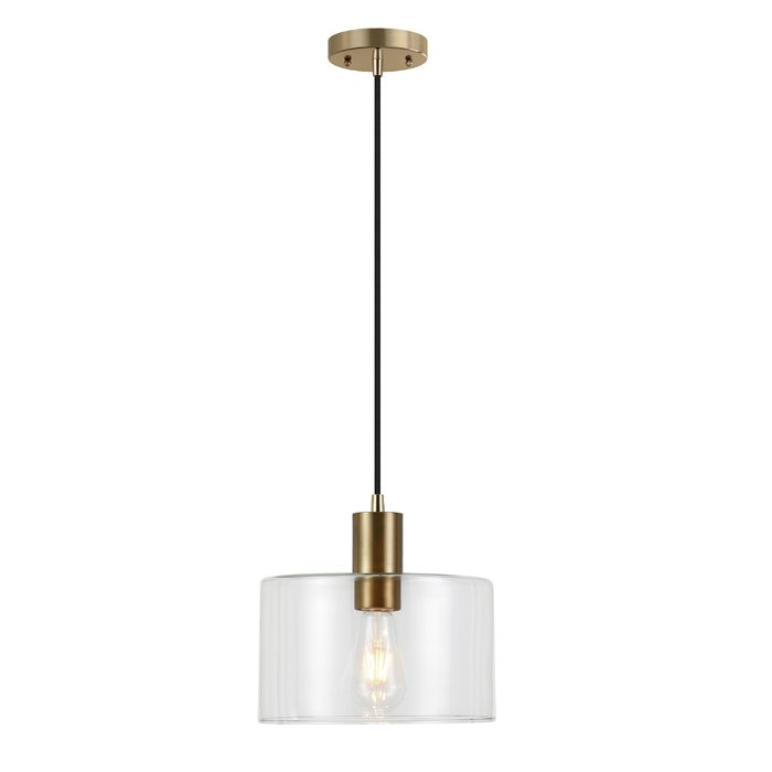 Plumlee 1 Light Cylinder Pendant Regarding Poynter 1 Light Single Cylinder Pendants (View 17 of 25)