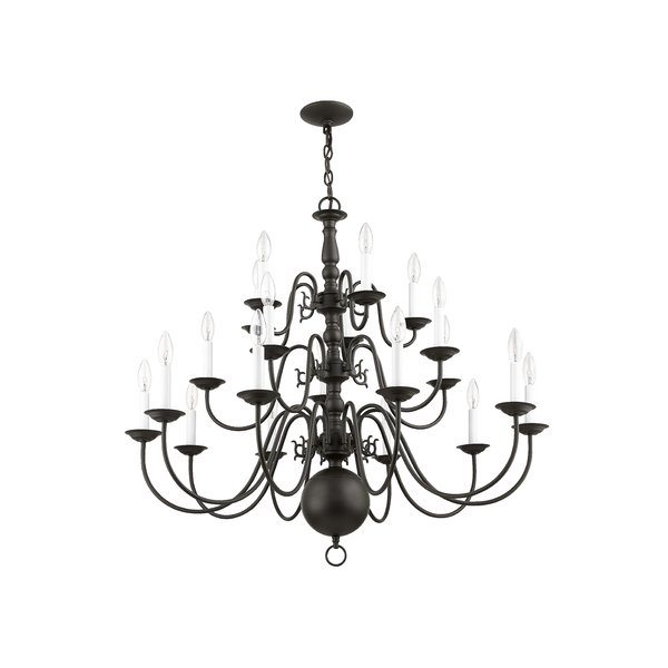 Pogue 20 Light Chandelier Pertaining To Ladonna 5 Light Novelty Chandeliers (View 10 of 20)